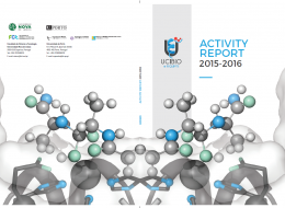 UCIBIO ACTIVITY REPORT 2015-2016